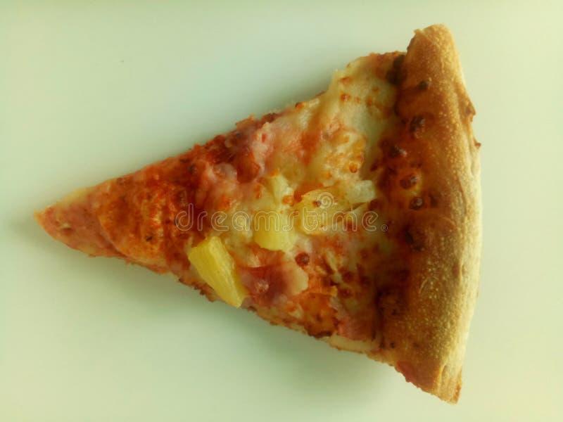 Wyśmienicie stroju jednoczęściowy hawaian pizza obraz stock
