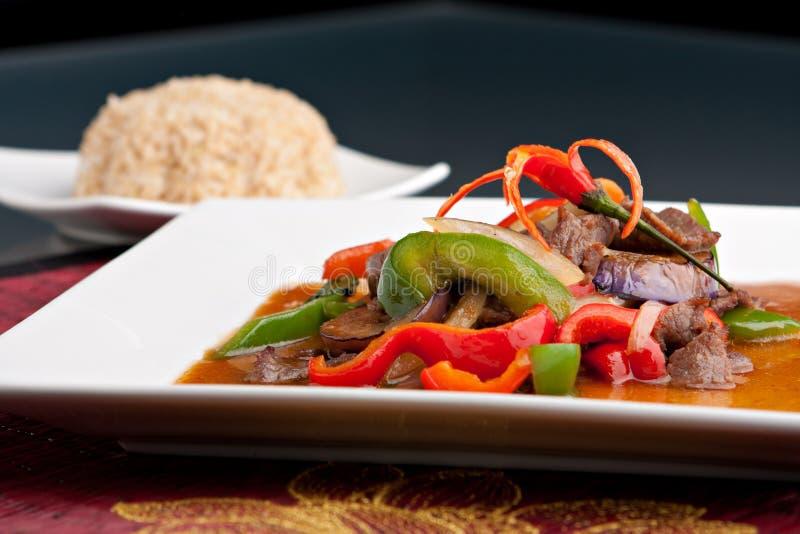 Wyśmienicie Tajlandzki Jedzenie obraz royalty free