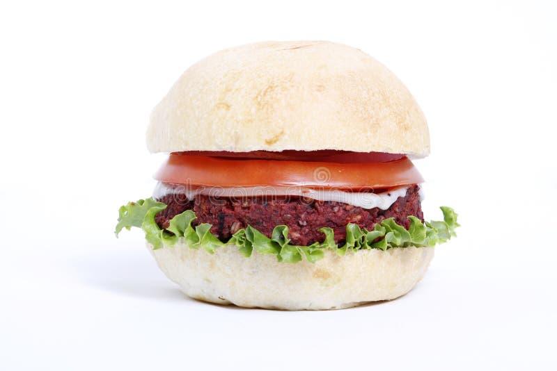 Wyśmienicie veggie hamburger fotografia royalty free