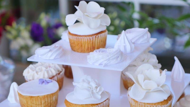 Wyśmienicie wesele cukierku baru deseru stół obraz royalty free