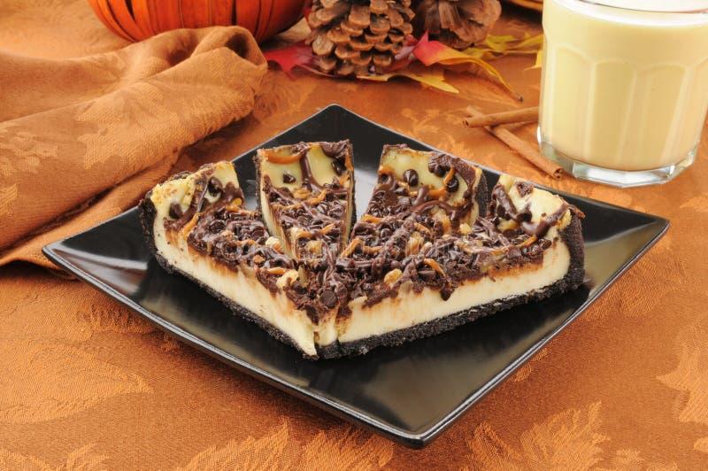 Wyśmienity cheesecake zdjęcie stock