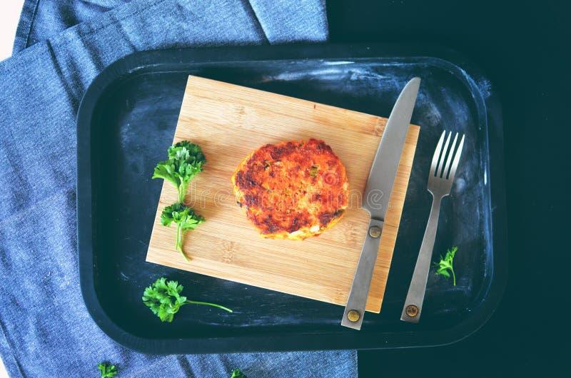 Wyśmienity jedzenie przygotowywający jeść zdjęcie royalty free