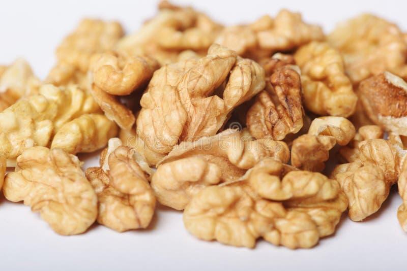 Wyższej ilości Nutmeat fotografia royalty free
