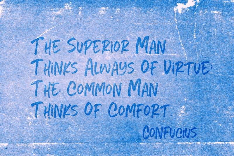 Wyższy mężczyzna Confucius obrazy stock