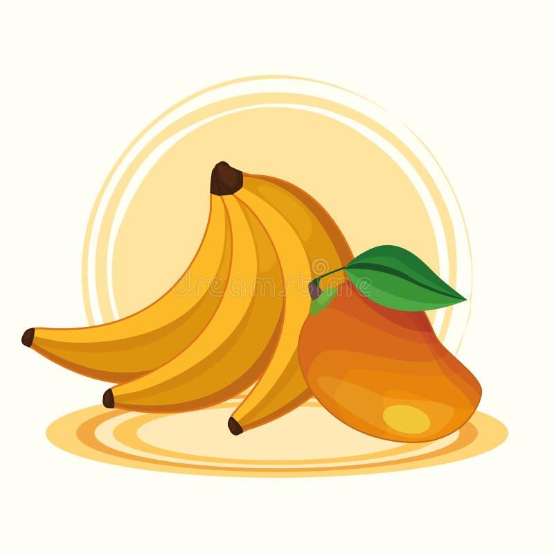 Wy?mienicie owoc kresk?wki ilustracji