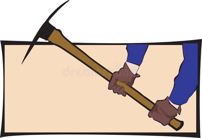 Wybór cioska ilustracja wektor