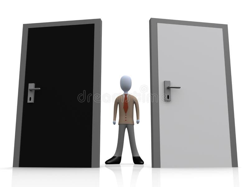 wybór przedsiębiorstw ilustracja wektor