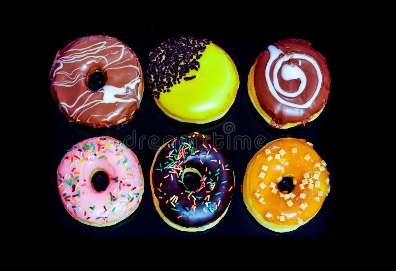 Wybór smakowici donuts obrazy stock