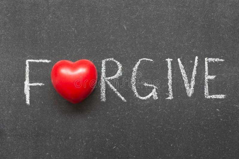 wybacza obraz stock