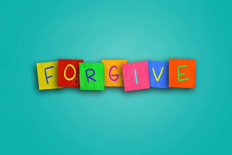 wybacza ilustracji