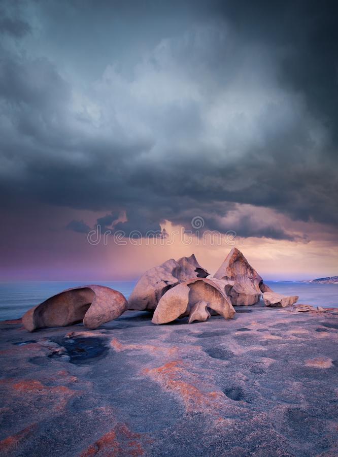 Wybitna burza zdjęcie royalty free
