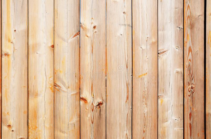 Wyblak?a wietrzej?ca drewniana p?otowa tekstura obrazy stock
