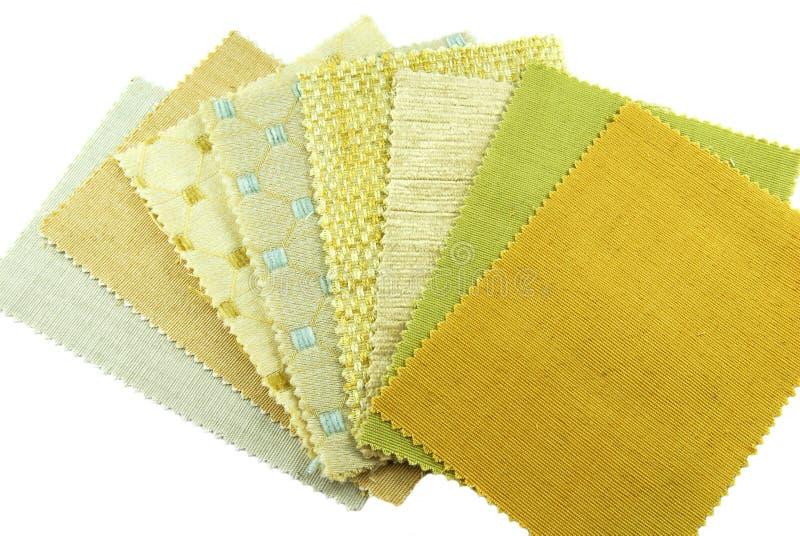 wyborowa tkanina pobierać próbki różnorodnego zdjęcie royalty free