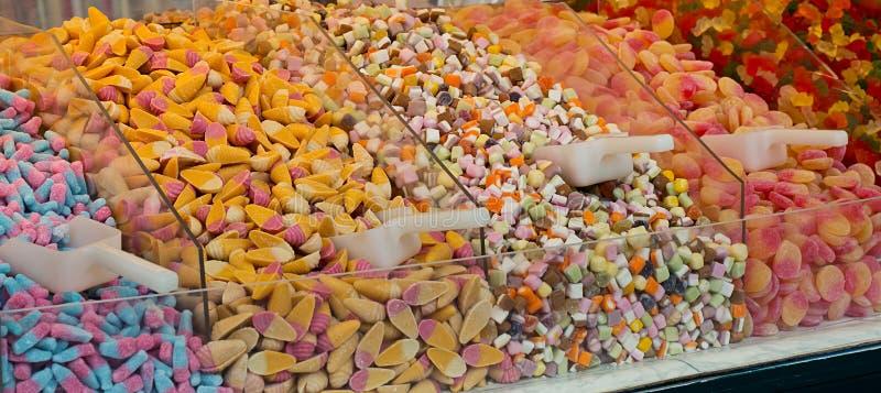 Wyboru i mieszanki cukierki zdjęcia stock