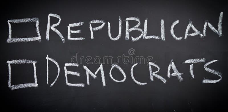 wybory amerykański głosowanie zdjęcia stock
