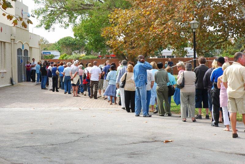 Wybory czas zdjęcie stock