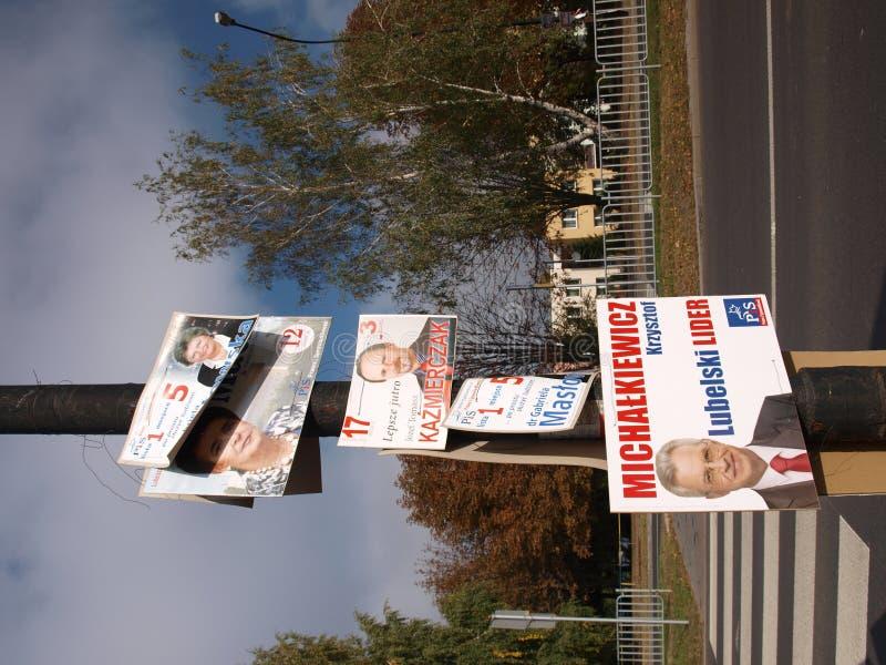 wybory Poland fotografia stock
