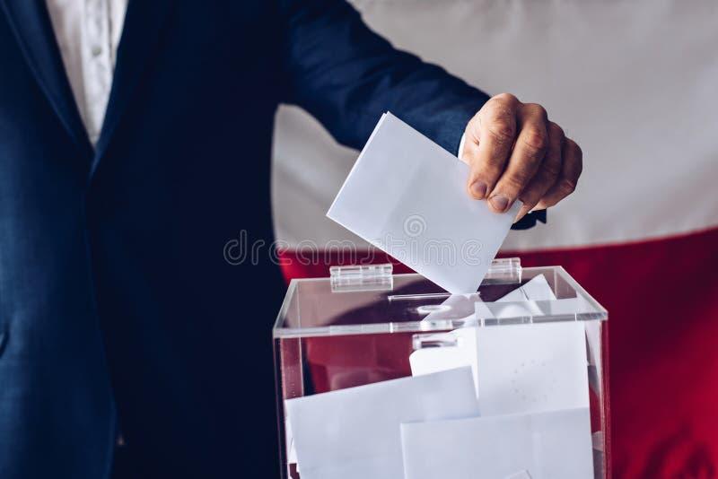 Wybory Polski parlament zdjęcia stock