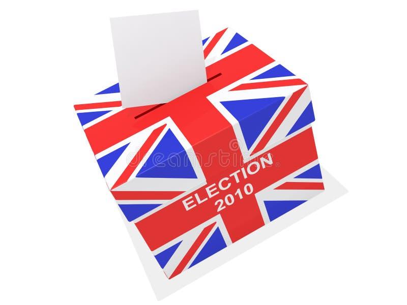 wybory uk royalty ilustracja