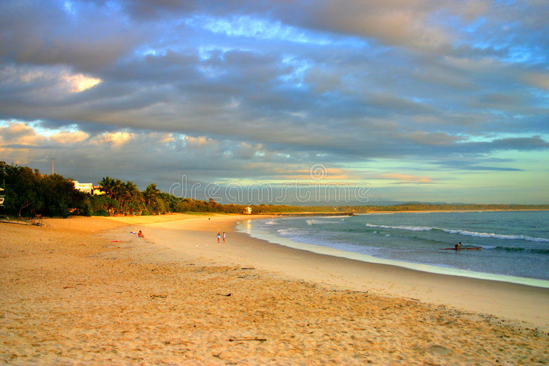 wybrzeża australii słoneczko obraz royalty free