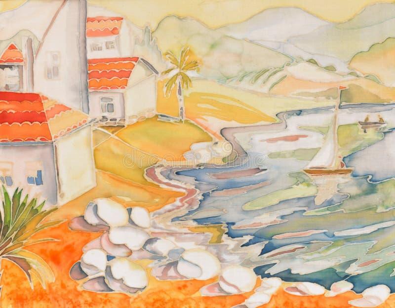 wybrzeże ilustracji