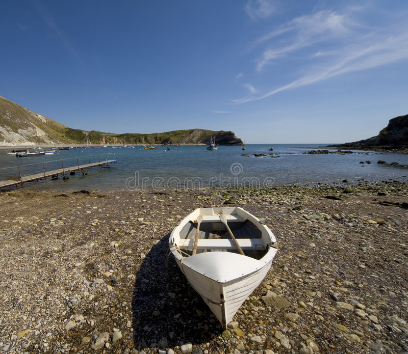 wybrzeże Anglii lulworth Dorset creek obrazy stock