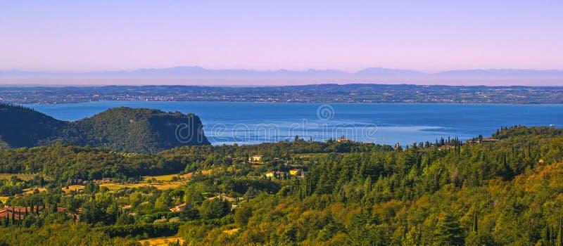 Wybrzeże gardy jezioro obraz stock