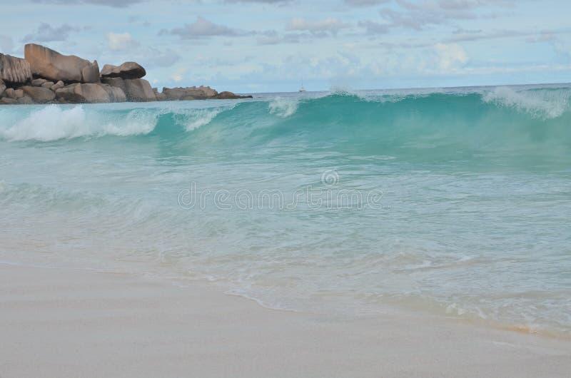 Wybrzeże i niebo zdjęcia royalty free