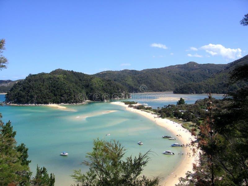 wybrzeże jest tasman abel zdjęcie stock