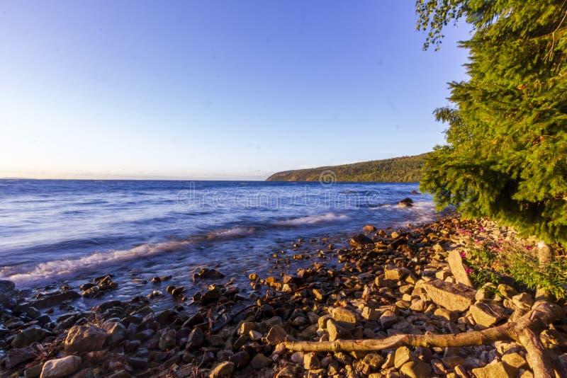 Wybrzeże Jeziora Vatterna zdjęcie stock