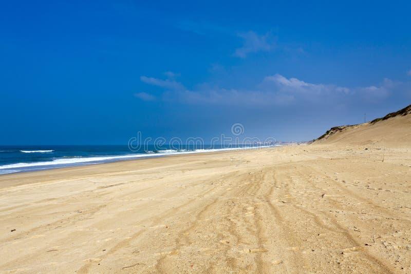 Wybrzeże Landes, Francja obrazy stock