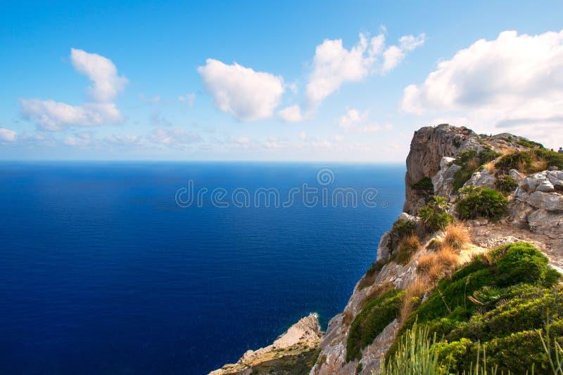 Wybrzeże Mallorca zdjęcie stock