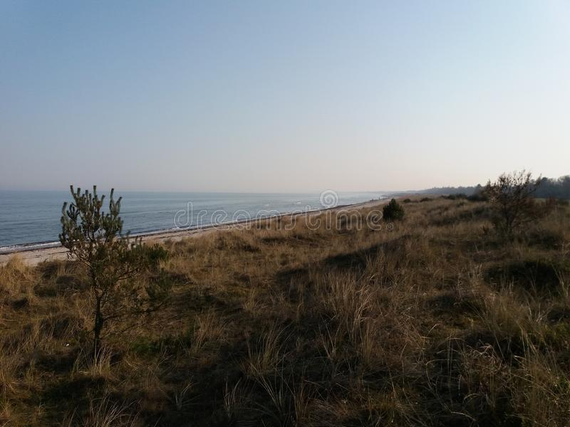 Wybrzeże Marielyst zdjęcie royalty free