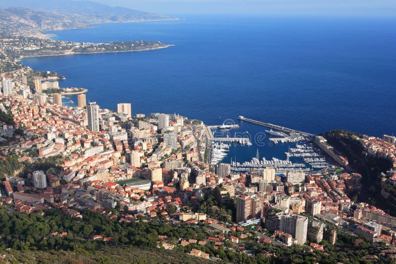 wybrzeże Monako zdjęcia stock