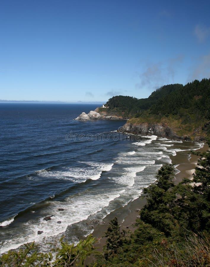 wybrzeże Oregon fotografia royalty free