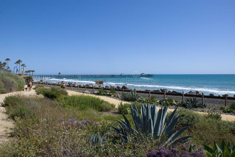Wybrzeże Pacyfiku przy San Clemente, orange county - Kalifornia fotografia royalty free