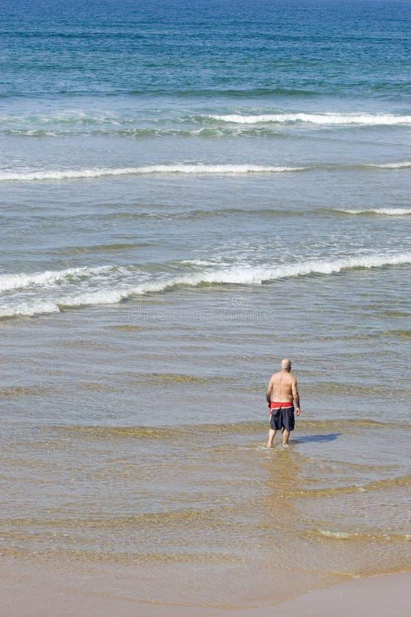 wybrzeże spokojnie wakacje na plaży zdjęcia stock