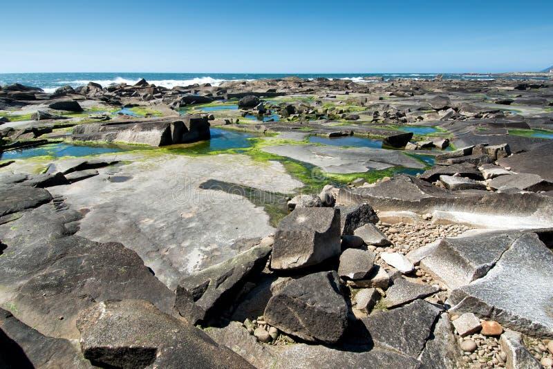 Wybrzeże w północnym Portugalia zdjęcie royalty free
