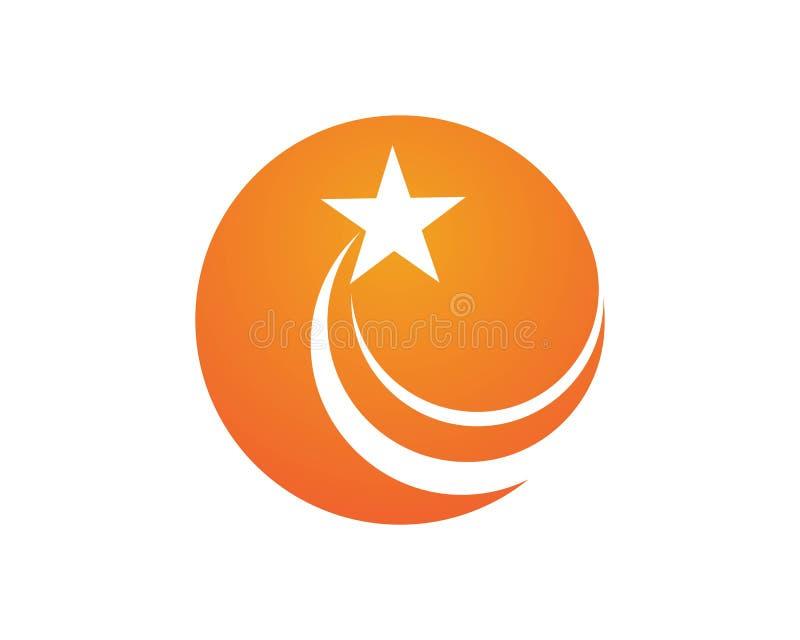 wybuch ikony gwiazdowi logowie ilustracja wektor