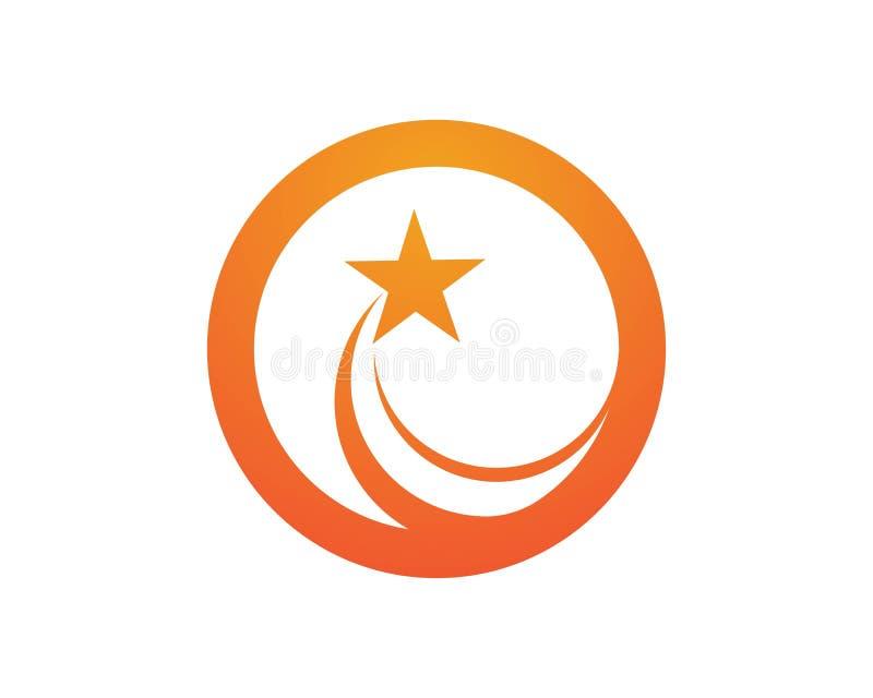 wybuch ikony gwiazdowi logowie royalty ilustracja