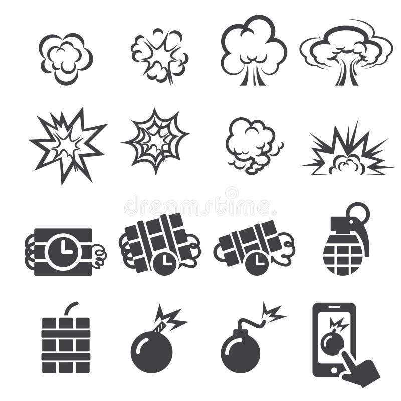 Wybuch ikony set