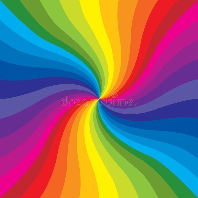 wybuch rainbow ilustracji