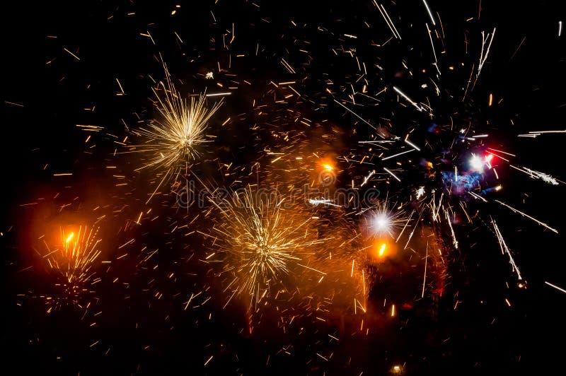 Wybuchać fajerwerki zdjęcia stock