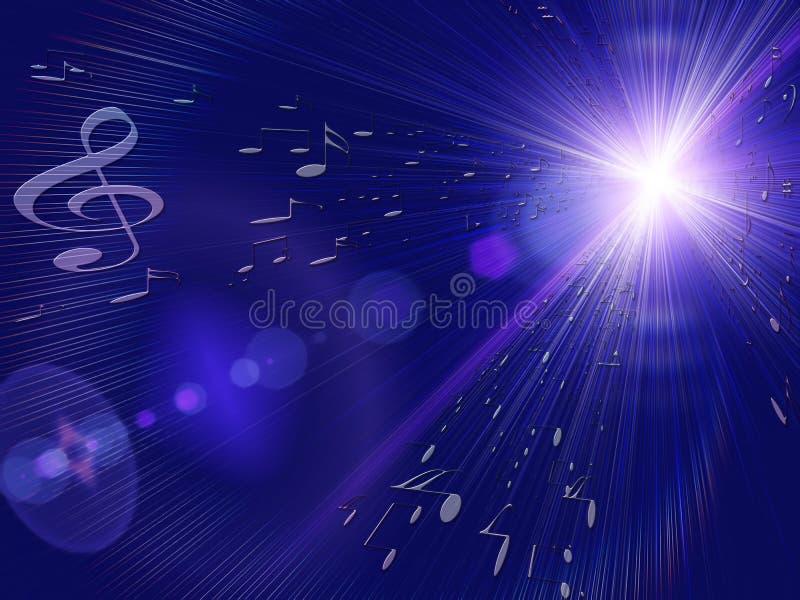 Download Wybuchu musical ilustracji. Ilustracja złożonej z klucz - 13335619
