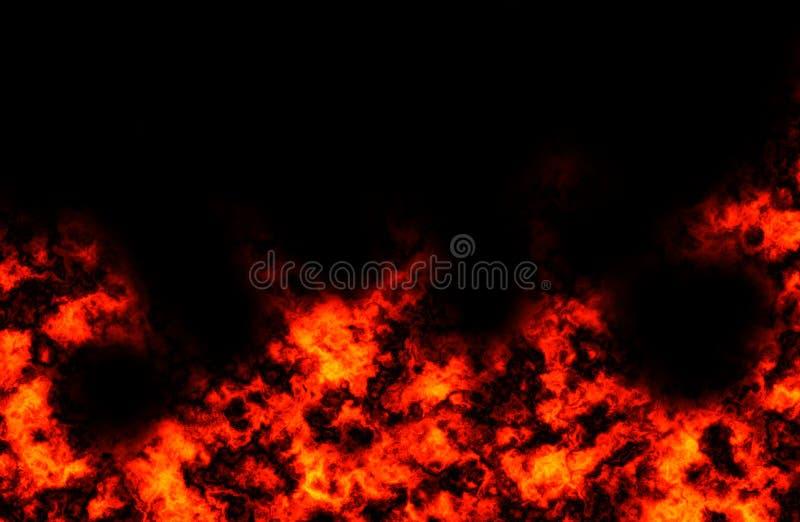 wybuchu pożaru obraz stock