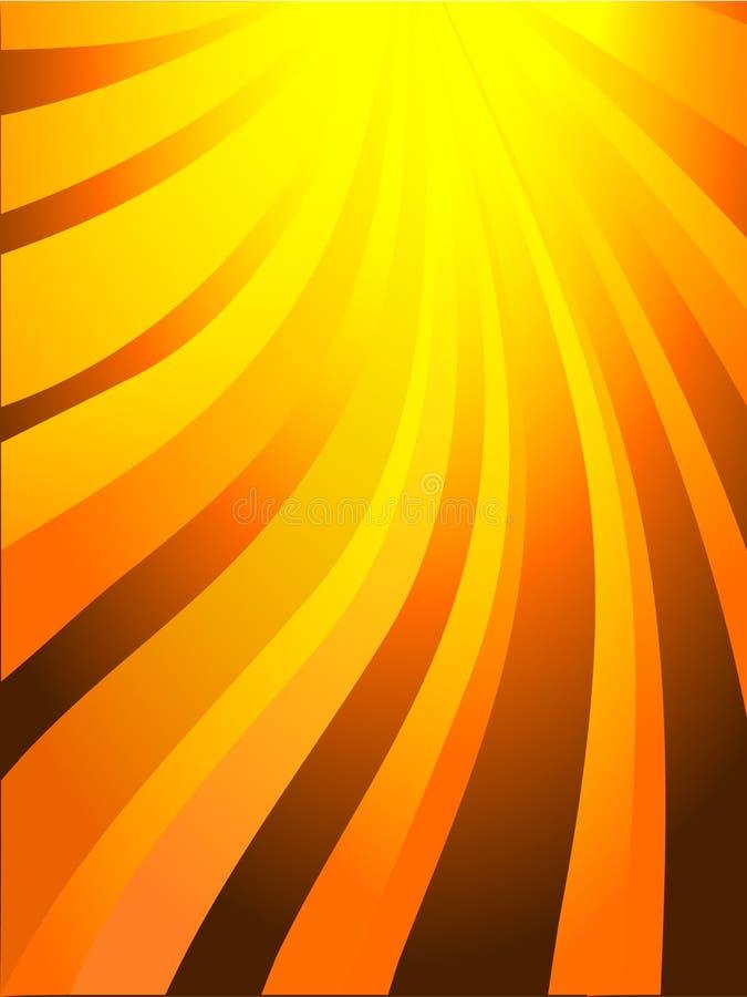wybuchu słońce royalty ilustracja