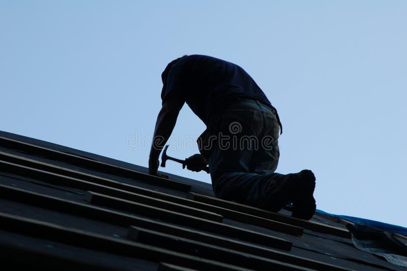 wybudować dom. obraz stock