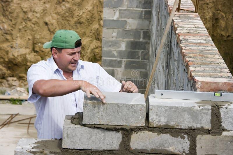 wybudować dom. zdjęcie royalty free