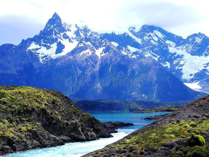 Wybujanie Torres Del Payne park narodowy fotografia royalty free