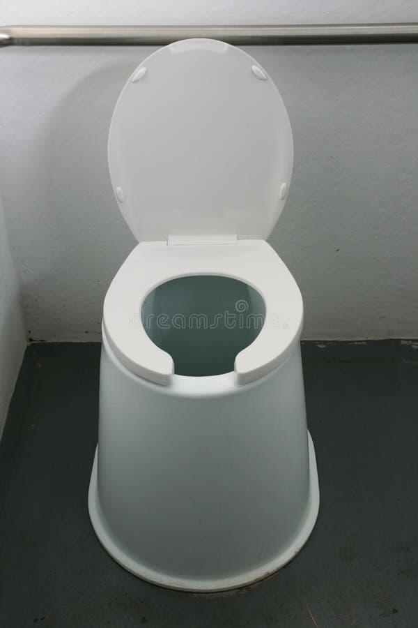 wychodek toaleta obrazy stock